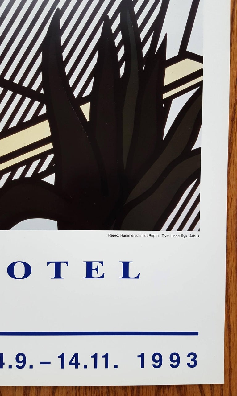 Strange Hotel - Pop Art Print by Roy Lichtenstein