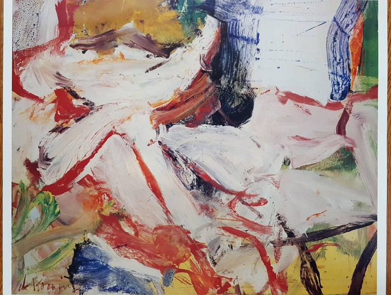 Moderna Museet: Willem de Kooning - Abstract Expressionist Print by Willem de Kooning