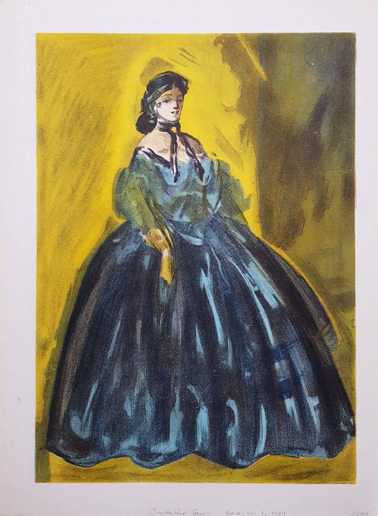 Femmes en Jolie Robes - Print by Constantin Ernest Adolphe Hyacinthe Guys