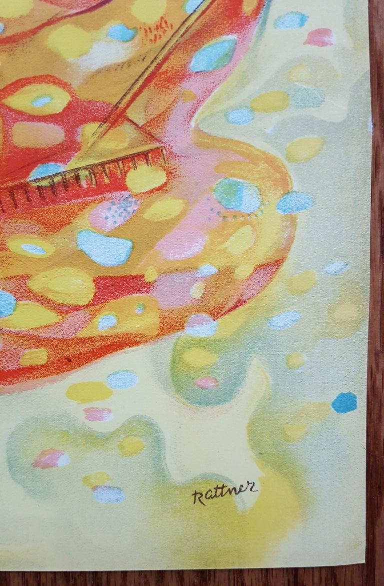 Autumn - Expressionist Print by Abraham Rattner