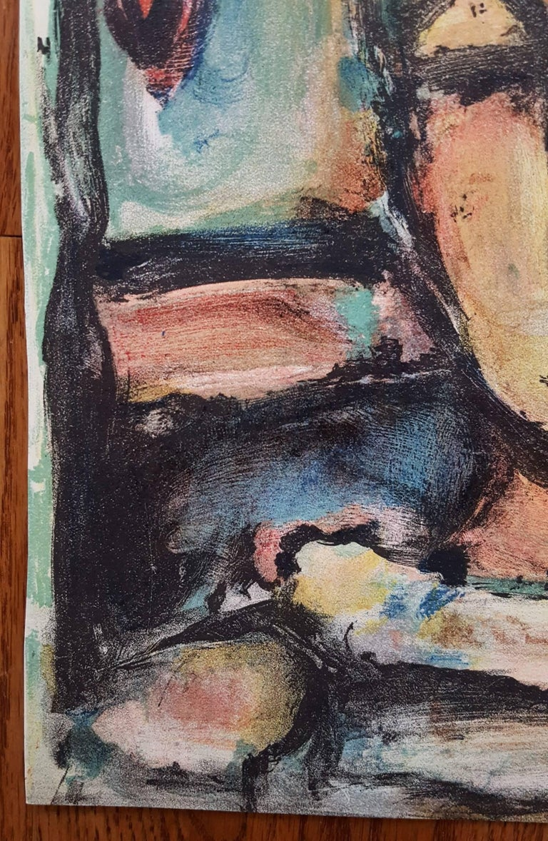 Tete de Jeune Fille - Print by (after) Georges Rouault