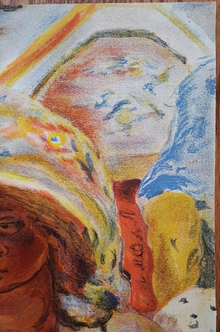 Jeaune Fille dans un Barque - Post-Impressionist Print by (after) Pierre Bonnard