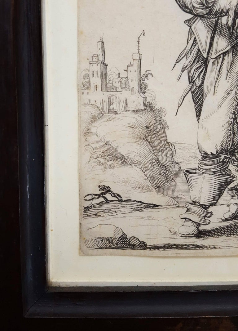 An original engraving and etching on laid paper by French artist Abraham Bosse (c.1602-1604-1676) titled