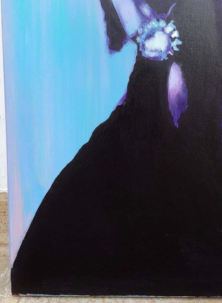 Audrey Hepburn Icon II - Painting by Jack Graves III