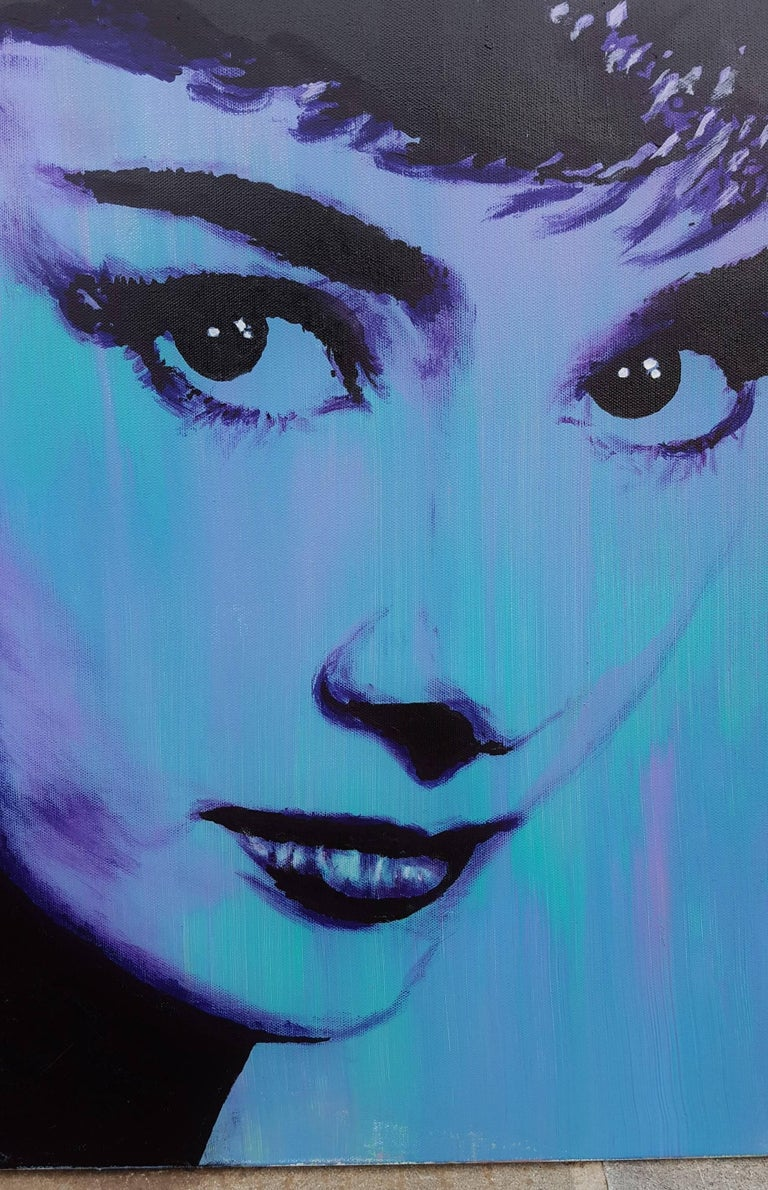 Audrey Hepburn Icon II For Sale 2