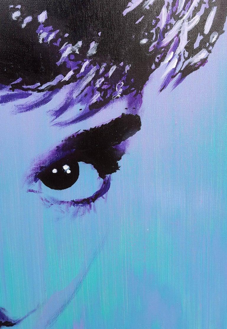 Audrey Hepburn Icon II For Sale 3