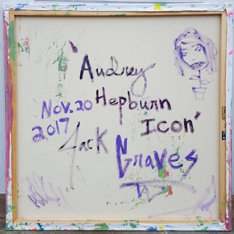 Audrey Hepburn Icon II For Sale 5