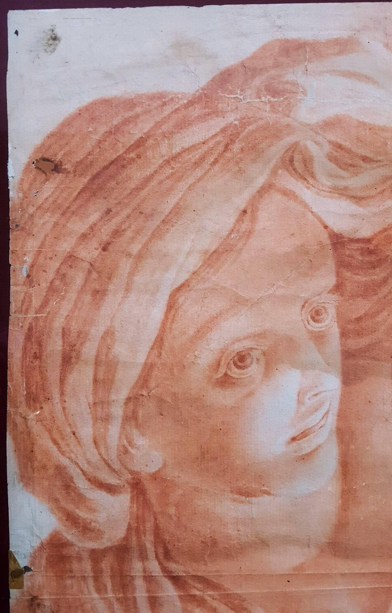 Giovane Donna Guardando a Sinistra (Young Woman Looking Left) For Sale 2