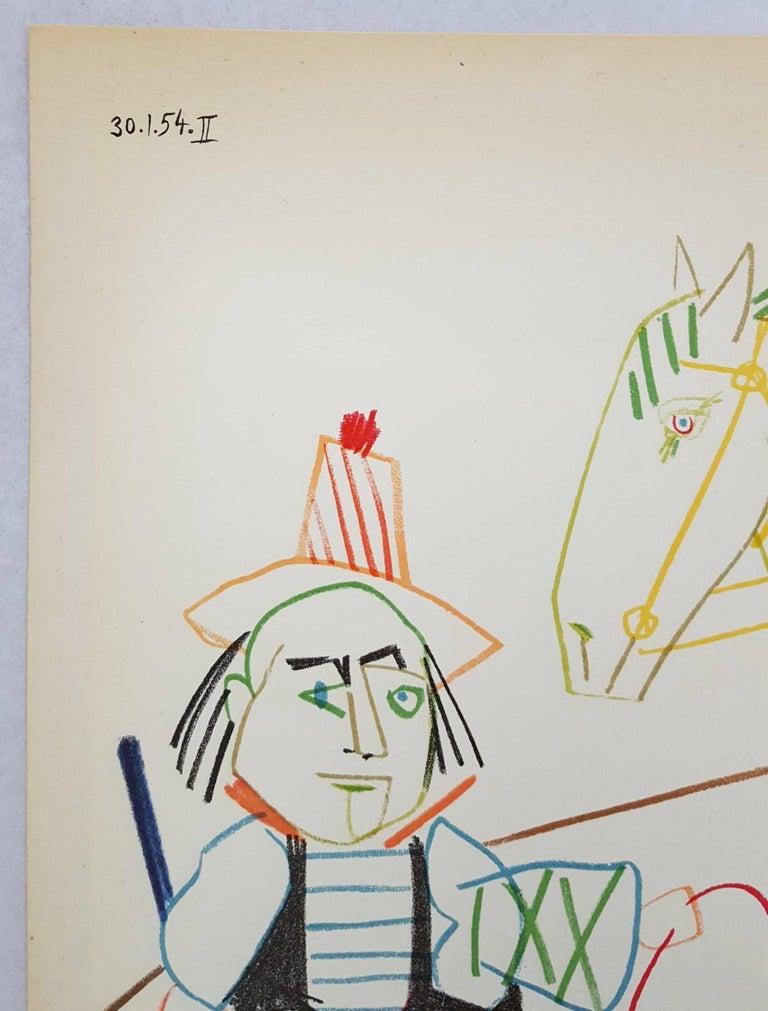 Untitled (Revue Verve) - Cubist Print by (after) Pablo Picasso