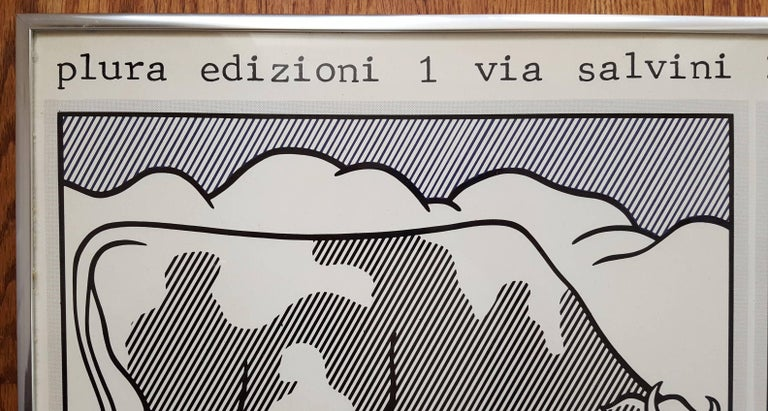 Grafica Pop (Cow Going Abstract) - Pop Art Print by (after) Roy Lichtenstein