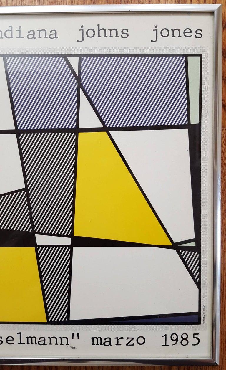 Grafica Pop (Cow Going Abstract) - Beige Animal Print by (after) Roy Lichtenstein