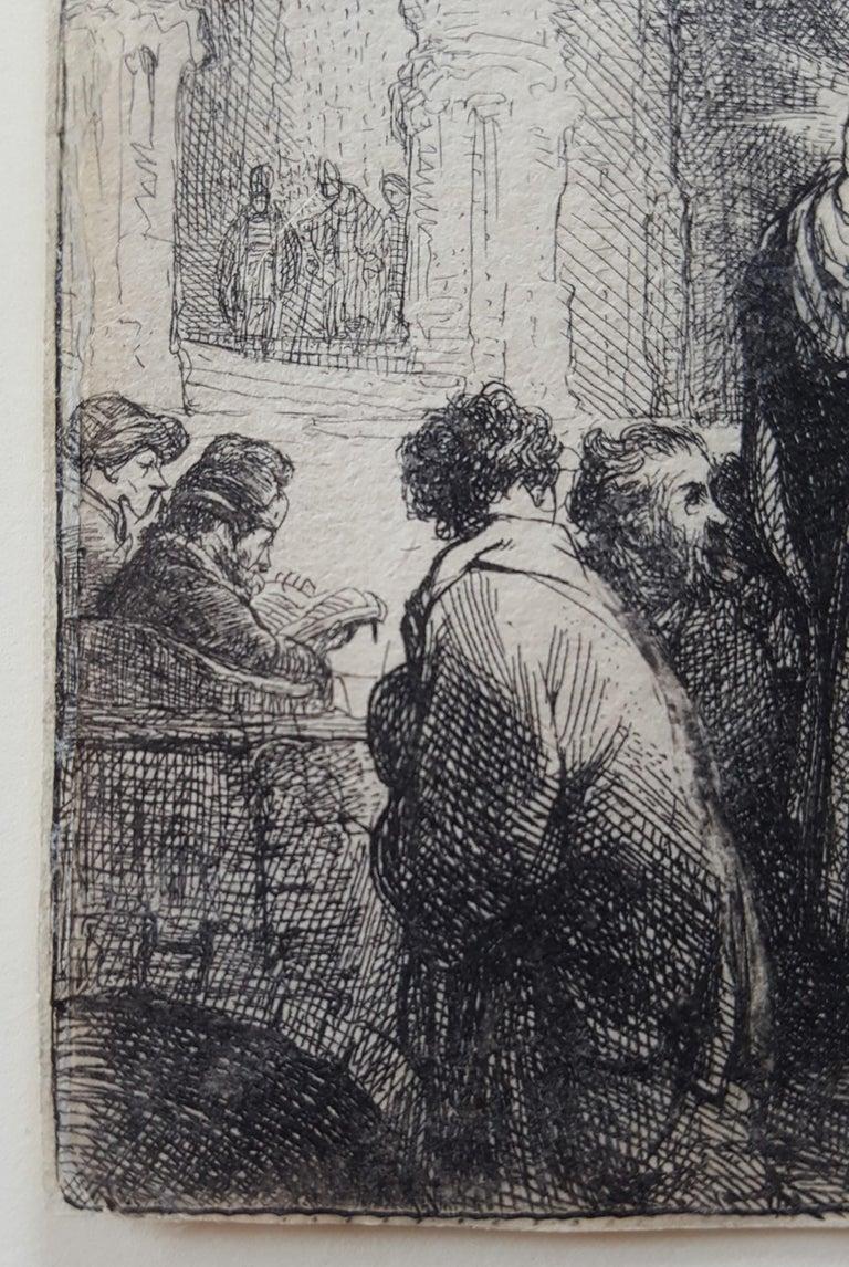 The Tribute Money - Print by Rembrandt van Rijn