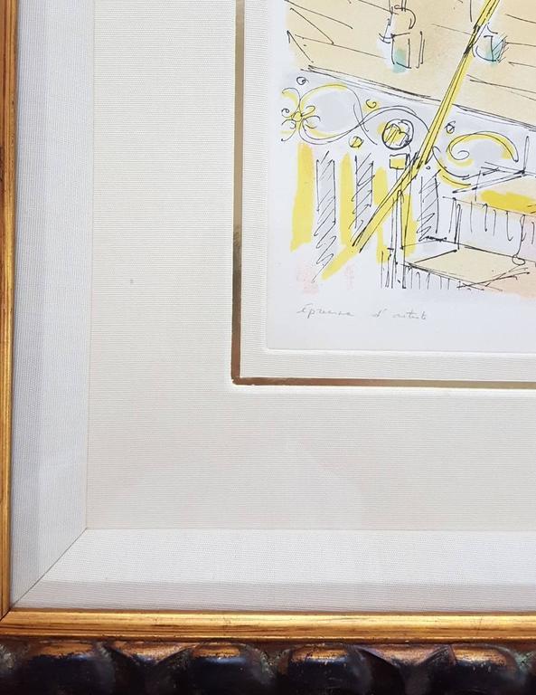 Le Manège - Impressionist Print by Jacques Villon