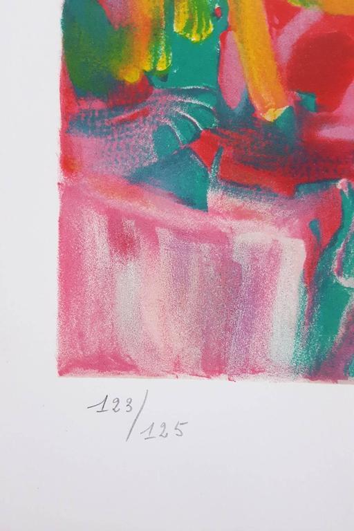 Isabella - Contemporary Print by Jan DeRola
