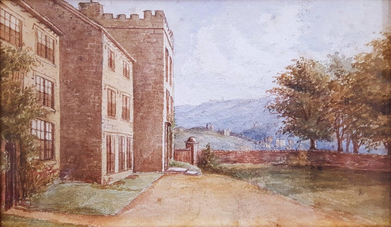 Anonymous Landscape Art - Haddon Hall, Derbyshire