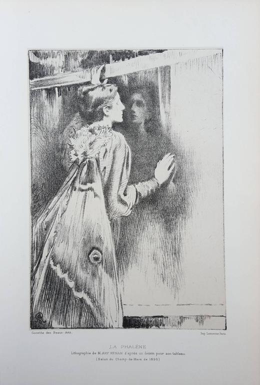 La Phalene - Print by Cornelius Ary Renan