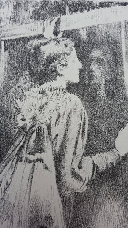 La Phalene - Impressionist Print by Cornelius Ary Renan