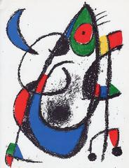 Joan Miró - Lithographe II: Untitled (M. 1047)