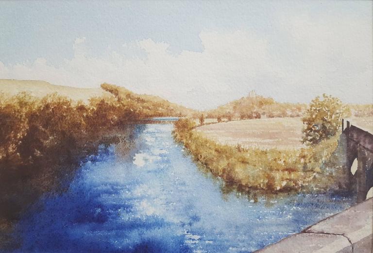 River Tweed at Norham, Fully Framed