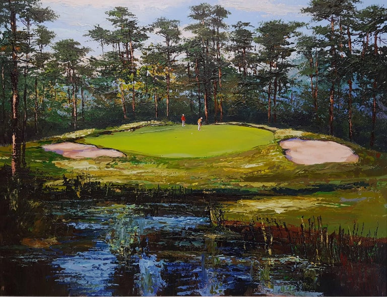 Mark King Landscape Painting - Pineland Plantation, South Carolina
