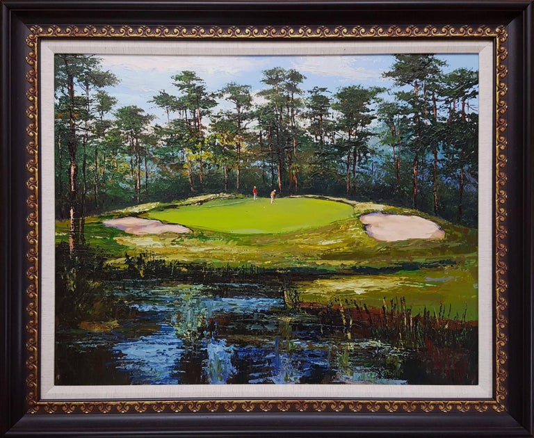 Pineland Plantation, South Carolina - Painting by Mark King