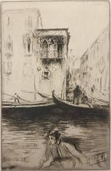Rio ca Foscari, Venice