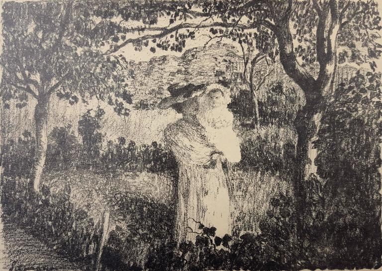 Henri Lebasque - La Promenade au Jardin 1