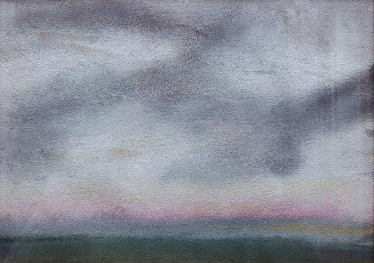 Sir George Clausen Landscape Art - Sunset