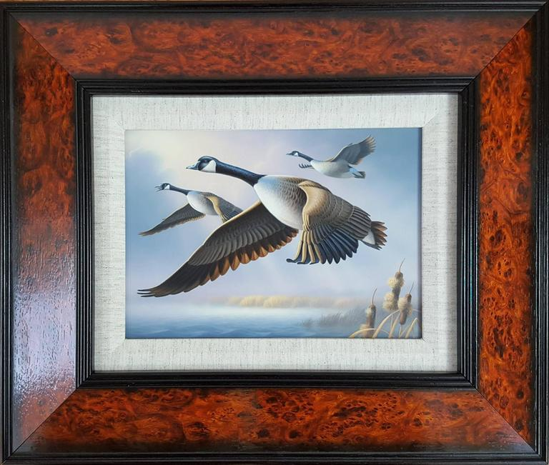 Canada Geese - Painting by Ron Louque