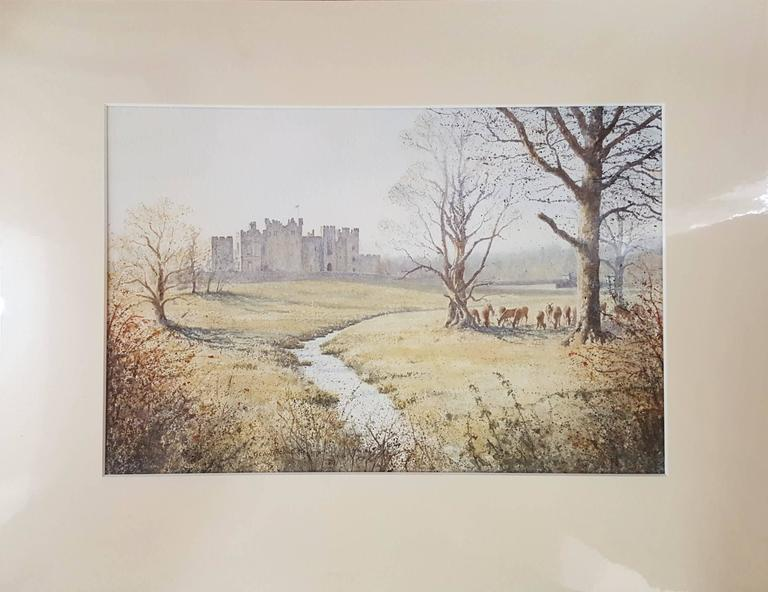 Raby Castle, Staindrop - Art by Gillie Cawthorne