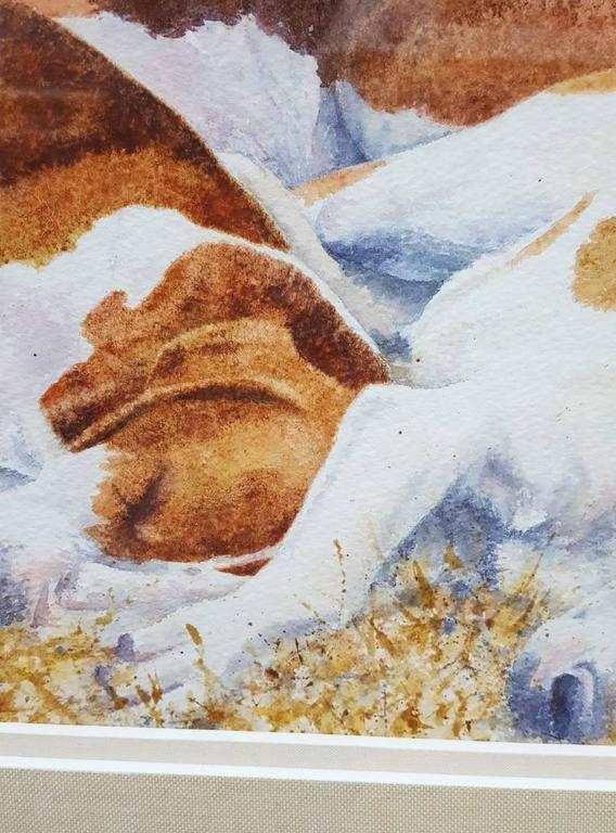 Sleeping Hounds, Fully Framed 7