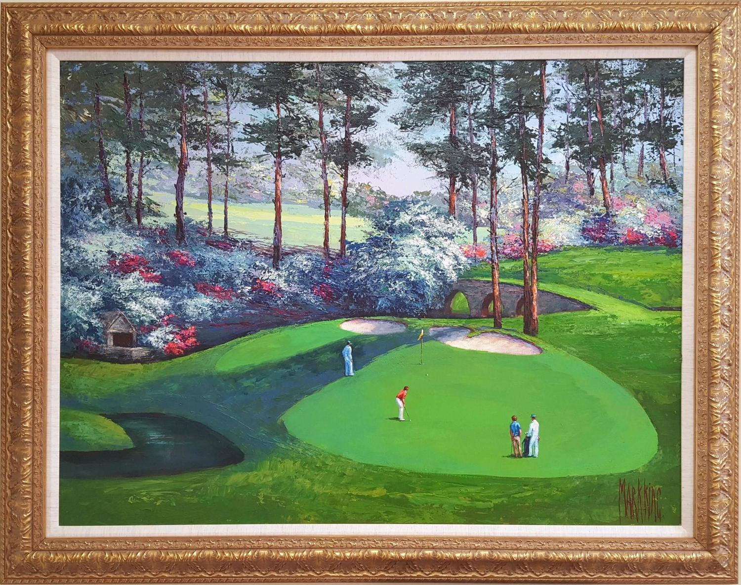 Mark King Amen Corner Augusta National Golf Club For