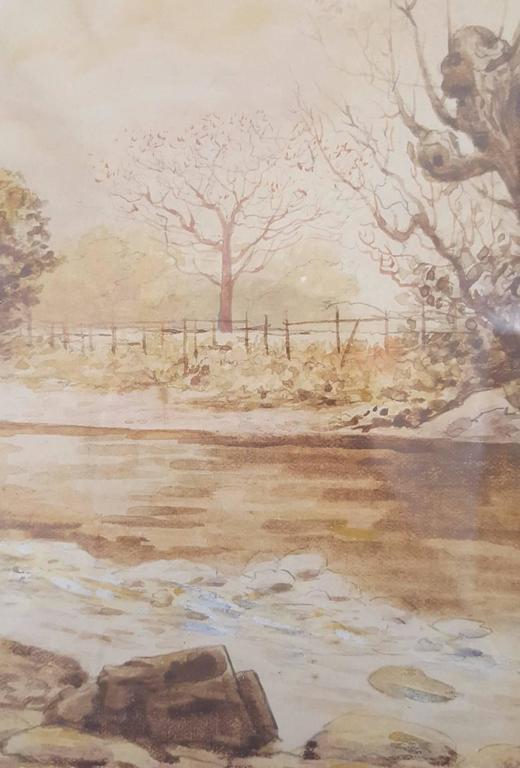 Rose Maynard Barton Autumn Langdale Pikes From Chapel