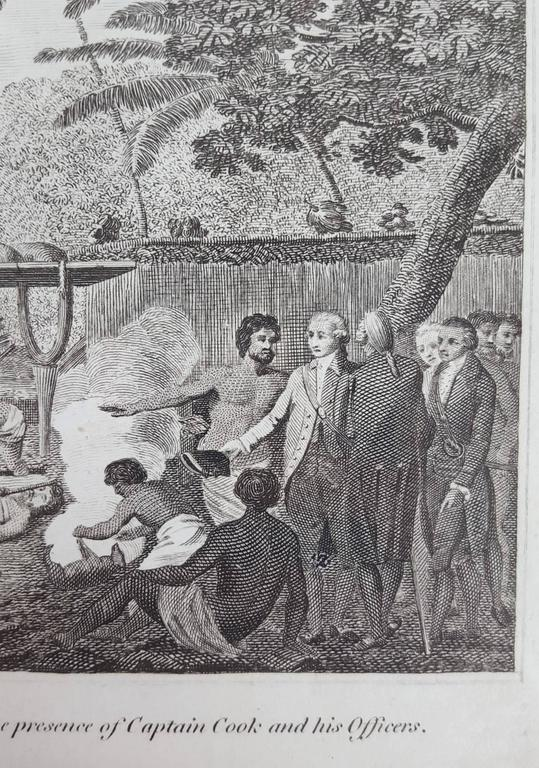 Representation of Human sacrifice with Captain Cook For Sale 1