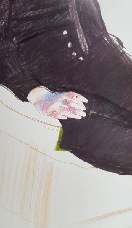 Celia, Paris, Black Stockings 4