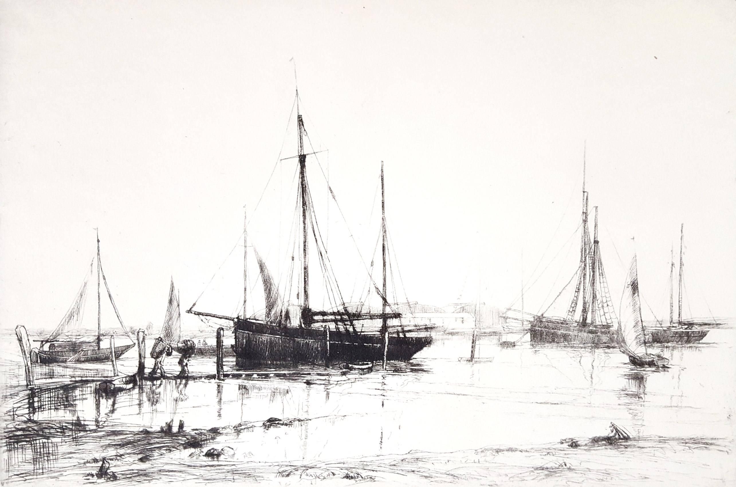 Crab Boats, Southampton Water