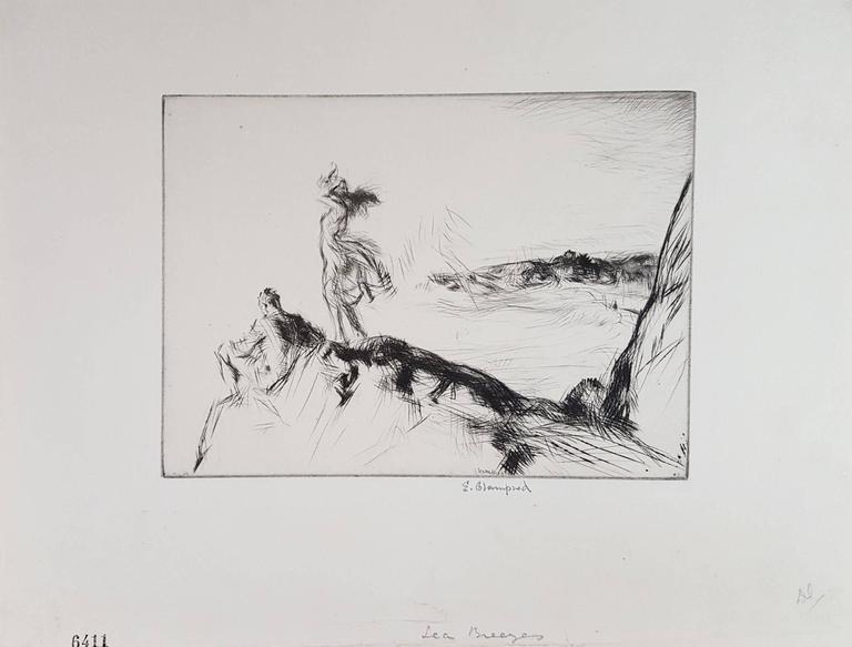 Sea Breezes - Print by Edmund Blampied