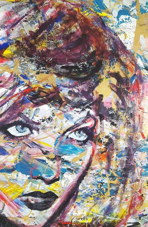 Karlie Kloss Icon - Pop Art Painting by Jack Graves III