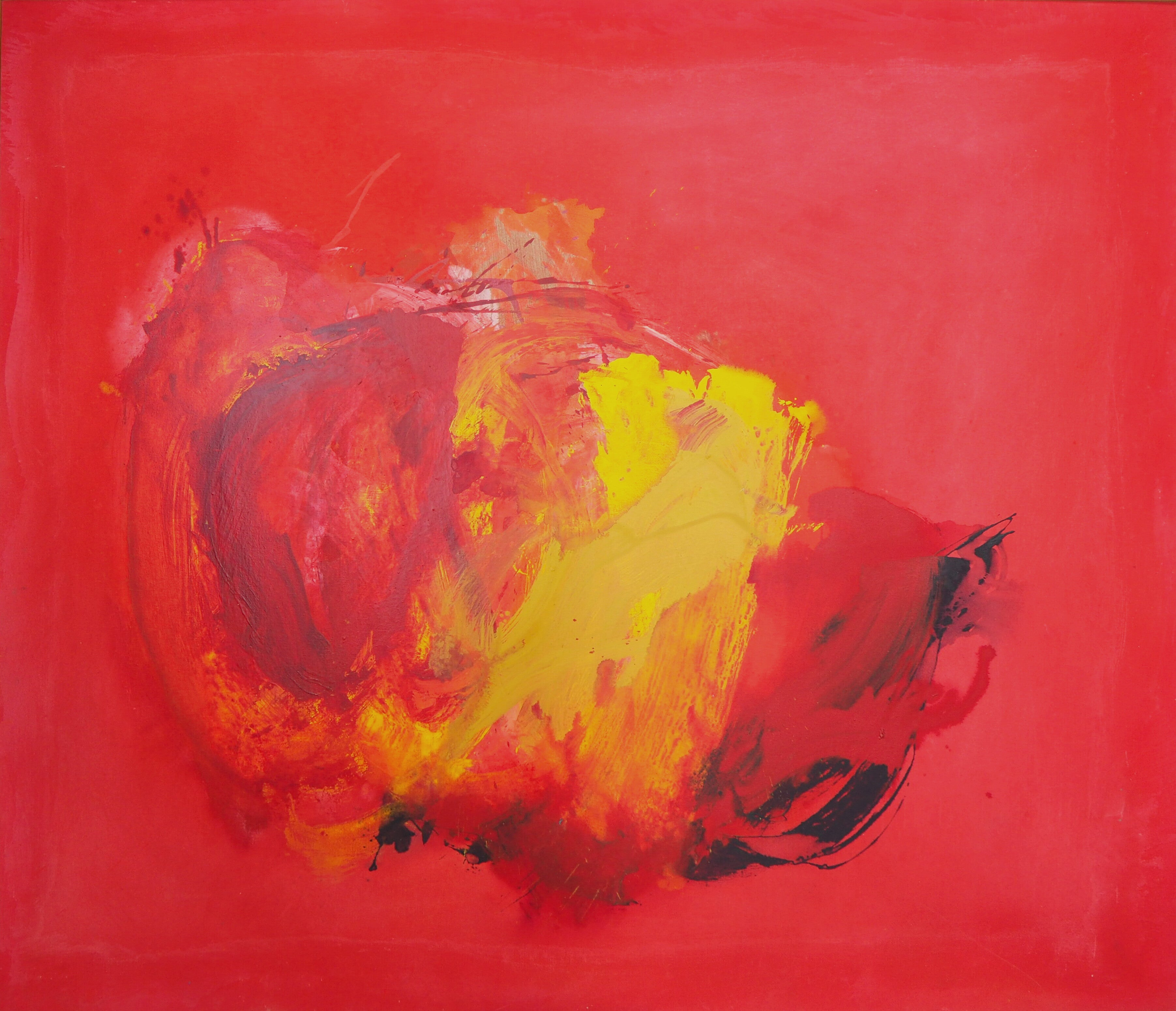 Cleve Gray, Perne #7, Acrylic on Canvas, 1978, Abstract Expressionism