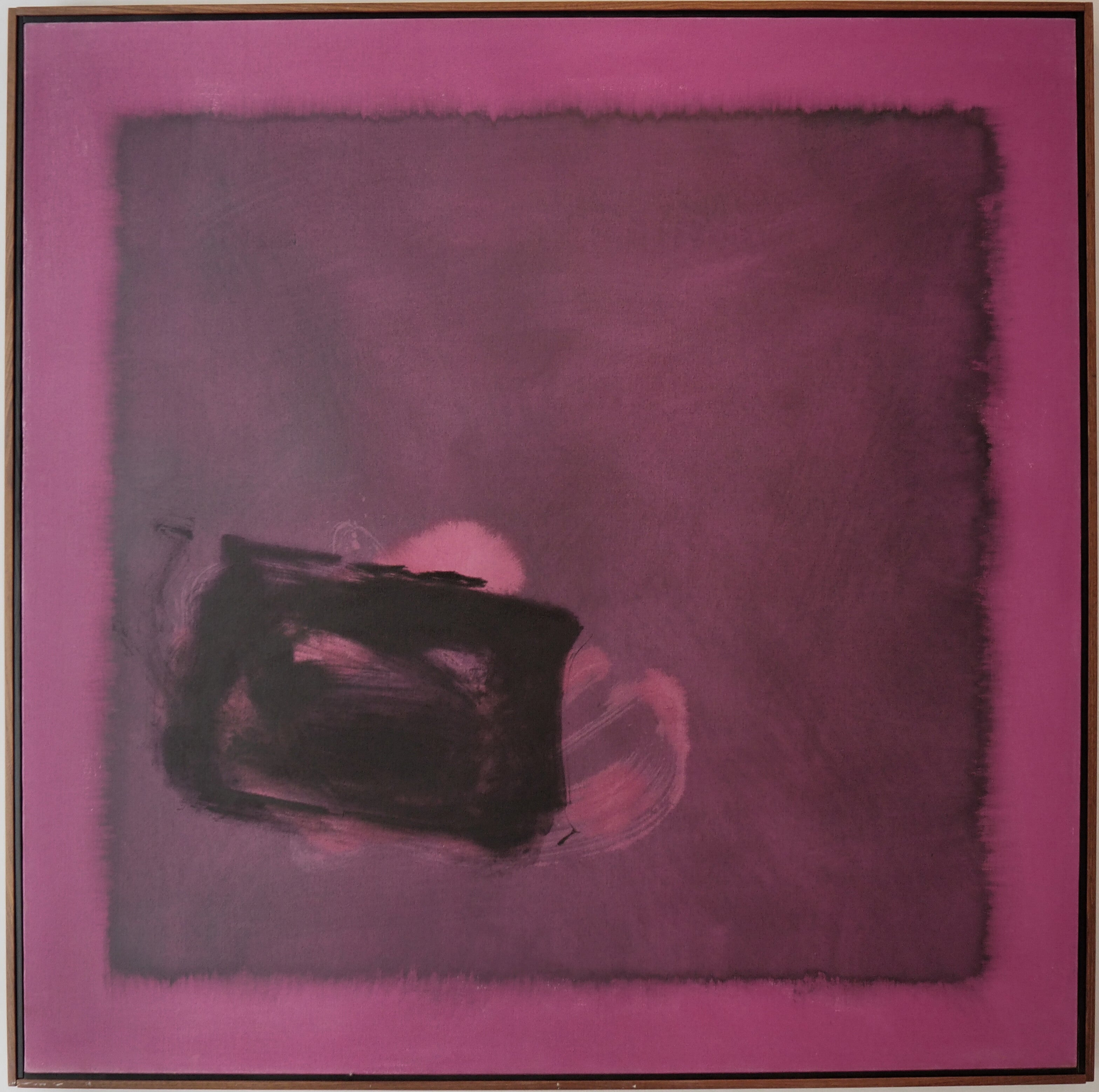 Cleve Gray, Conjunction #199, Acrylic on Canvas, 1976
