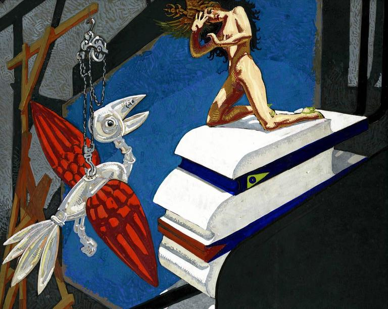 Mechanical Bird and Nude For Sale 2