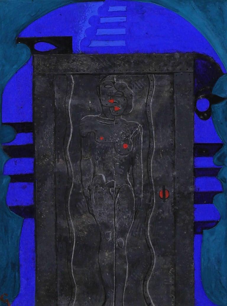 Mahlon Blaine Figurative Painting - The Passage