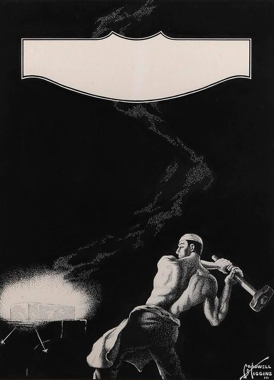 American Industrialism - Mixed Media Art by Cardwell Higgins