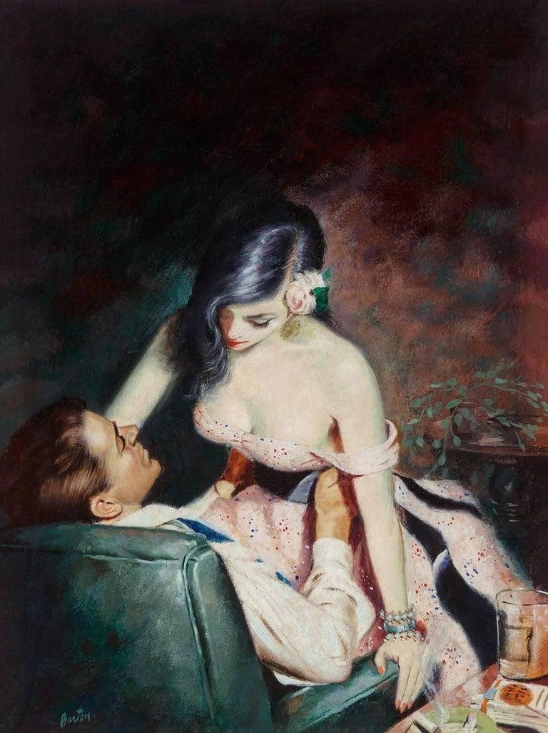 Harry Barton Figurative Painting - Tender Hearted Harlot