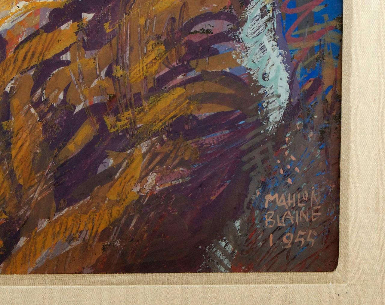 Forging Ahead - American Modern Painting by Mahlon Blaine