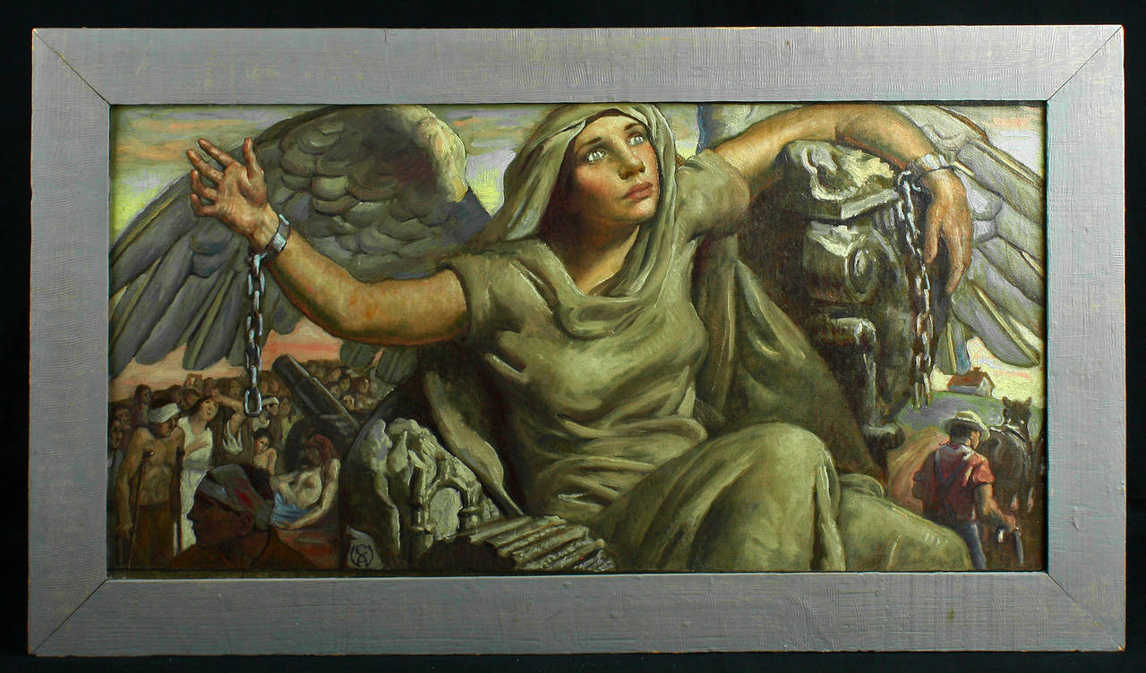 Liberty Unchained - Painting by Charles Winter