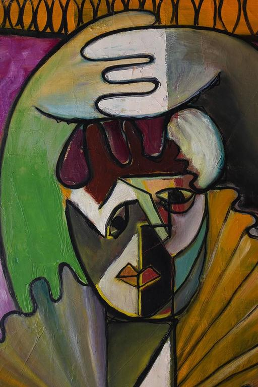 Abstracted Clown  5