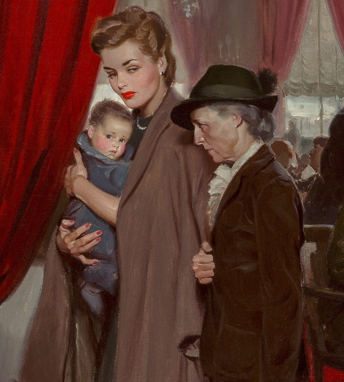 Tom Lovell The Occupation Of Paris At 1stdibs