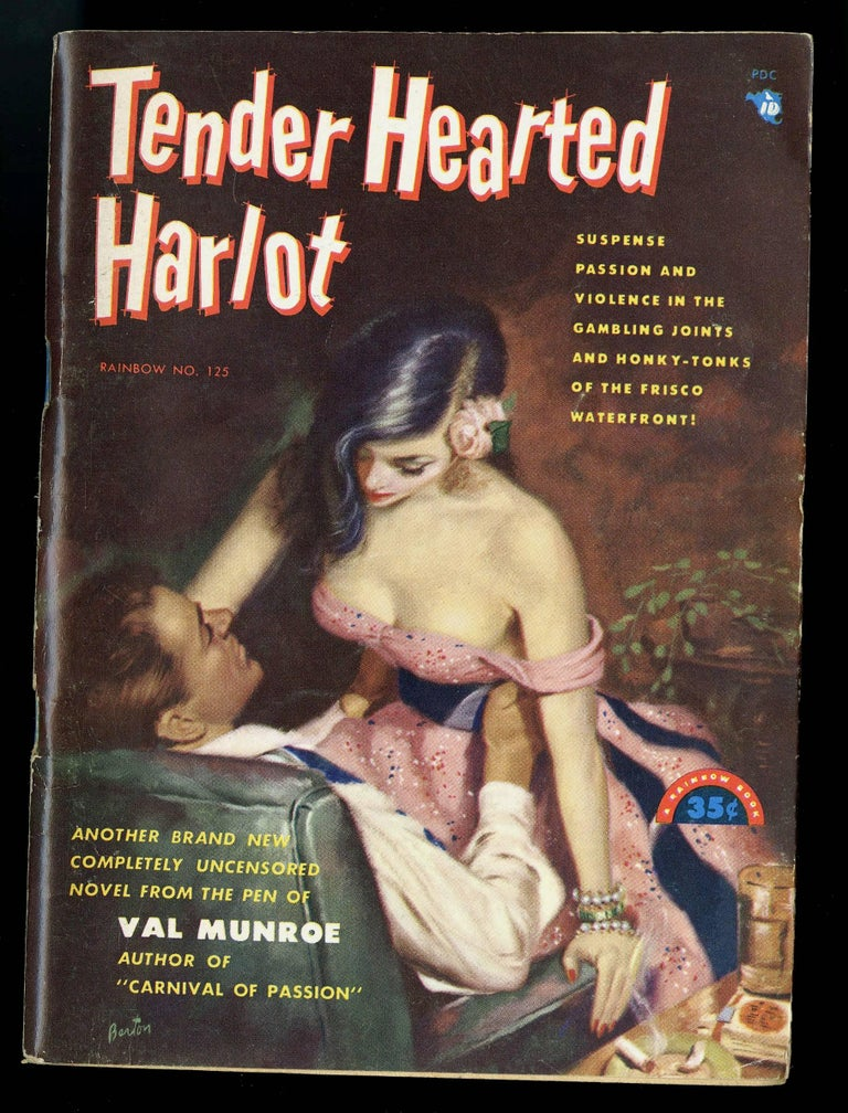 Tender Hearted Harlot - American Realist Painting by Harry Barton