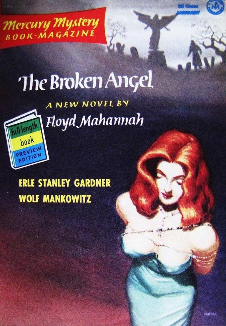 The Broken Angel - American Realist Painting by Mel Hunter